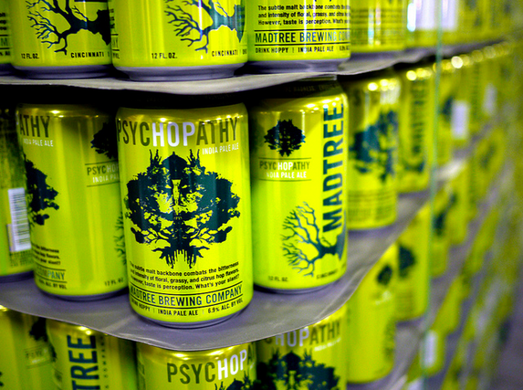 Mad Tree PsycHOPathy at Great American Ballpark (Cincinnati Reds)