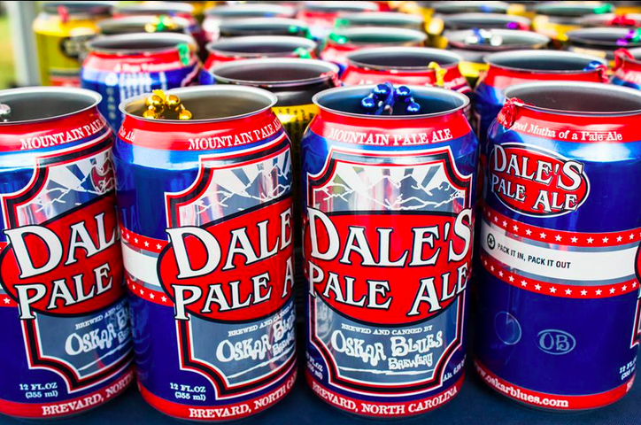Oskar Blues Dale's Pale Ale at Globe Life Park (Texas Rangers)