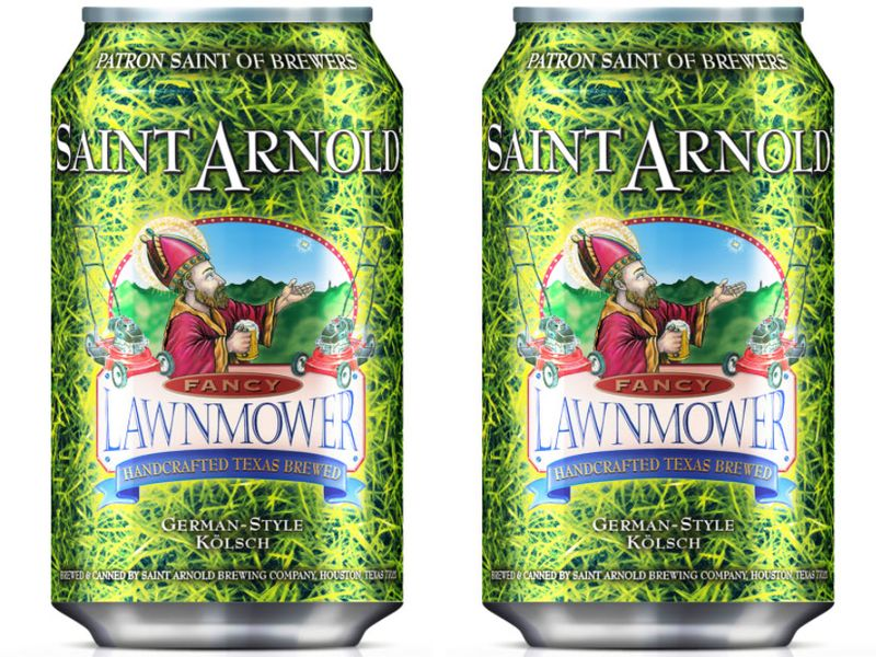 Saint Arnold Lawnmower at Minute Maid Park (Houston Astros)